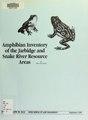 Amphibian inventory of the Jarbidge and Snake River Resource Areas - final report (IA amphibianinvento00mcdo).pdf