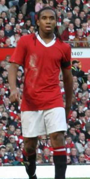 Anderson (footballer, born 1988) - Anderson playing in the Manchester derby on 10 February 2008