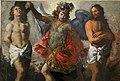 Andrea boscoli (attr.), annunciazione e i ss. sebastiano, michele arcangelo e forse giovanni battista, 1590-1610 ca. (museo diocesano di faenza e modigliana) 05.jpg