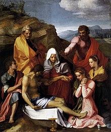 Pietà di Luco Galleria Palatina, Firenze
