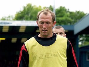 Andy Morrell - Morrell training with Bury in 2009