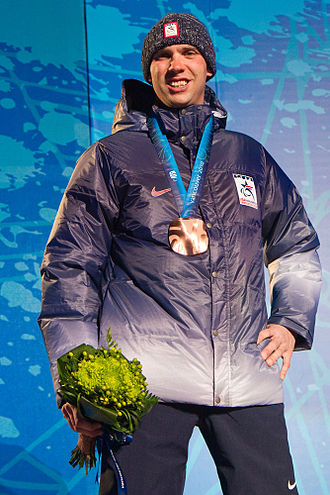 United States at the 2010 Winter Paralympics - Andy Soule, wins bronze in biathlon, Men's 2.4 km Pursuit.