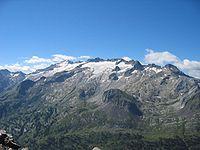 El Pico Aneto, punto más alto de los Pirineos.