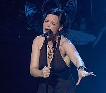Description de l'image  Anette Olzon palais.jpg.