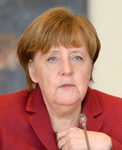 Angela Merkel, Chancellor of Germany since 2005 Angela Merkel 2016.jpg