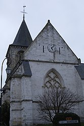 The church in Angerville-l'Orcher
