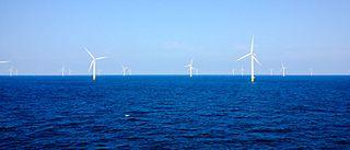 Danish offshore wind farm in the Kattegat