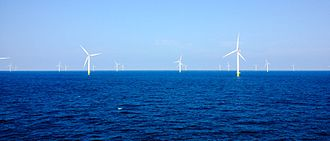 Anholt Offshore Wind Farm - Image: Anholt September 2014