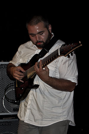 Animals as Leaders - Javier Reyes playing guitar