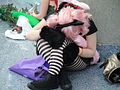 Anime Expo 2011 - exhausted cosplayer (5917380517).jpg