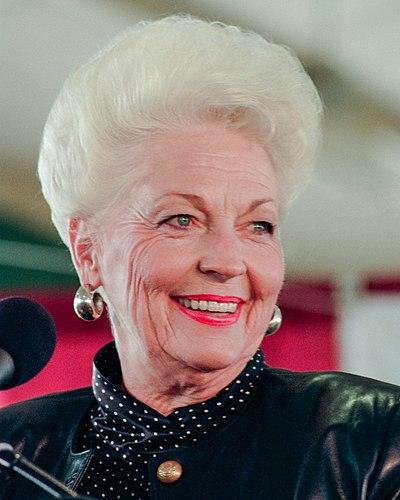 Ann Richards, American politician, democrat