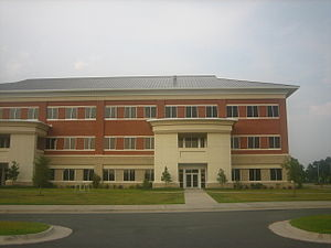 Bossier Parish Community College - Buildings at Bossier Parish Community College reflect this style of architecture.