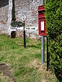 Ansty, postbox № DT2 161 and finger-post, Higher Ansty - geograph.org.uk - 1374694.jpg