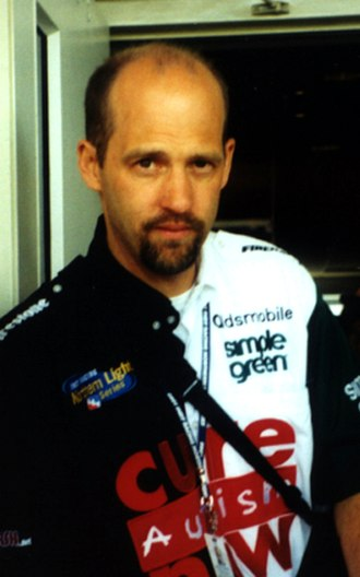 Anthony Edwards - Edwards at the 2002 Indy 500