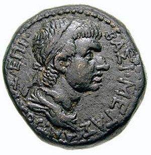 Antiochus IV of Commagene - Coin depicting Antiochus IV
