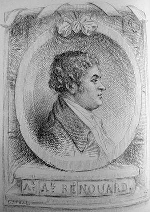 Antoine-Augustin Renouard - Antoine-Augustin Renouard (1765-1853)