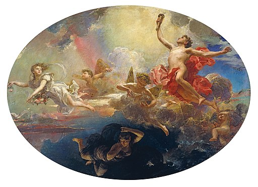 Antoni Caba - The Triumph of Day over Night Preceded by Dawn - Google Art Project