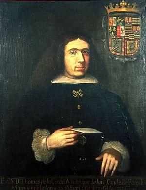 Carlos de Sigüenza y Góngora - Viceroy Tomás de la Cerda