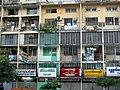 Apartment block, Yangon, Myanmar.jpg