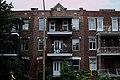 Apartment building in Avenue de Lorimier, Montreal.jpg