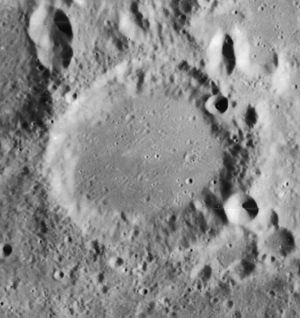 Apianus (crater) - Image: Apianus crater 4101 h 1