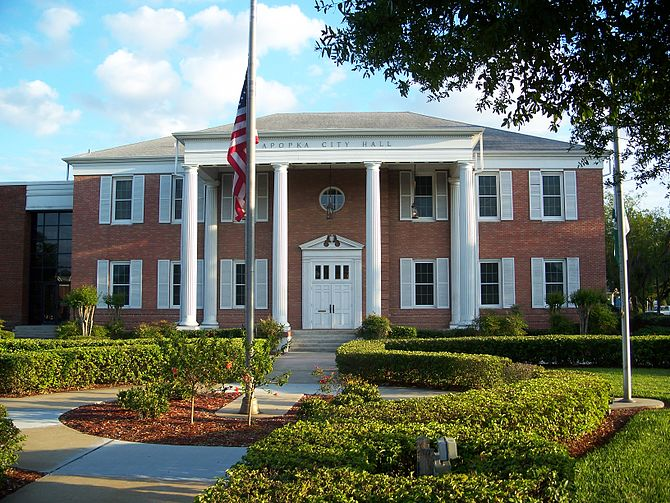 Apopka City Hall, in Apopka, Florida
