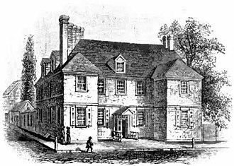 Дом с черепичной крышей был одной из двух резиденций, используемых Пенном во время своего второго пребывания в Северной Америке. Дом пришел в упадок и был разрушен в 1867 году.