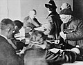 Applying for identification and work permits from Jewish Council in the Krakow ghetto.jpg