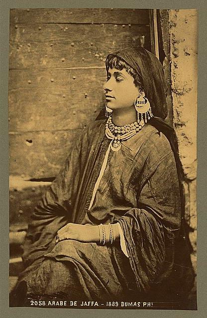 Arabe de Jaffa -Dumas Ph.