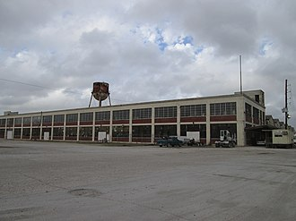 National Register of Historic Places listings in St. Bernard Parish, Louisiana - Image: Arabi 21Dec 2013 Old Ford Plant
