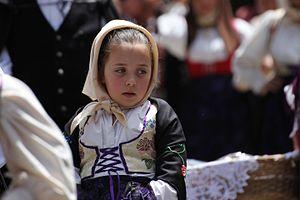 Arbus, Sardinia - Traditional costume from Arbus