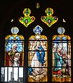 Arconcey Church Stained Glass God the Father.JPG