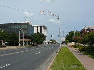 Texoma - Main street in  Ardmore