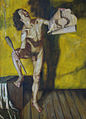 "Aris Kalaizis ""Diogenes"",oil on wood,120x170 cm,47by67 inch.1995.jpg"