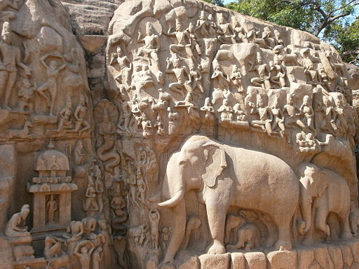 Arjunas-Penance-Descent-of-the-Ganges-Mahabalipuram-3