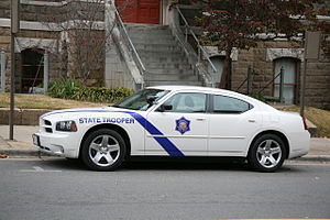 Arkansas State Police charger