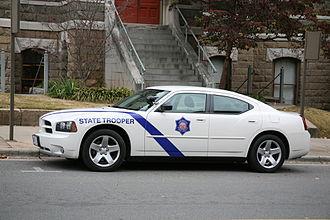 Arkansas State Police - ASP car