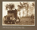 Armoured car held up for a time on the main Harbonnieres Road by fallen trees (3007981410).jpg