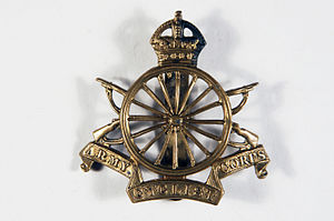 Army Cyclist Corps - Cap badge