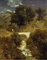 Arnold Böcklin - Römische Landschaft mit Brücke (1863).jpg