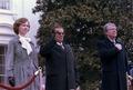 Arrival ceremony for state visit of Josip Tito, President of Yugoslavia - NARA - 178242.tif