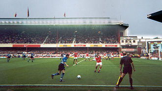 Sheffield Wednesday F.C. - The Owls playing in their final away match of the 1999-2000 Premier League season, at Arsenal in May 2000
