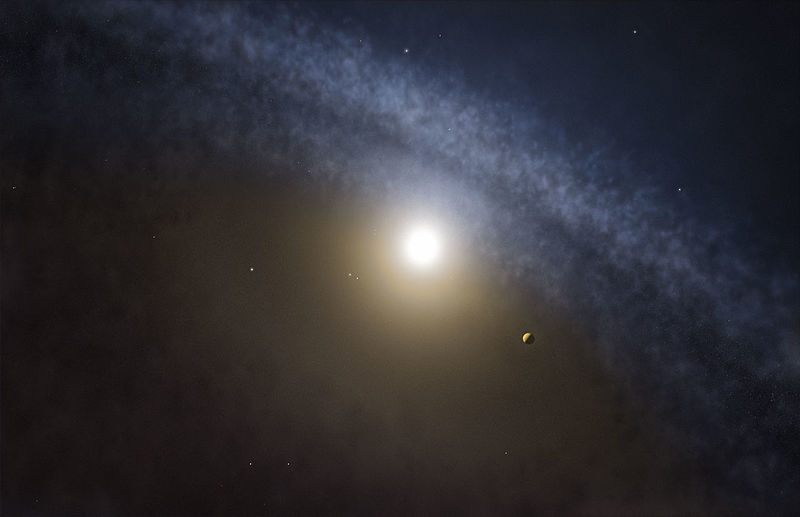 Artist%27s impression of a transitional disc around a young star.jpg
