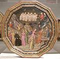 Artista fiorentino, desco da parto con diana e atteone e, sul retro, la giustizia, 1395 ca. 01.JPG