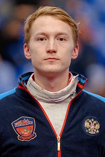 Artur Akhmatkhuzin Olympic foil fencer