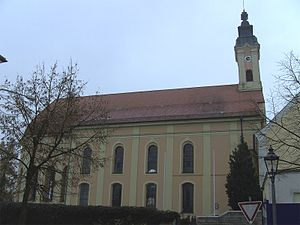 Osterhofen Abbey - Image: Asambasilika Altenmarkt