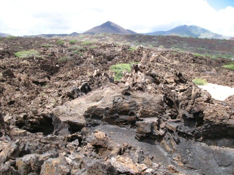 Ascension Island Lava fields