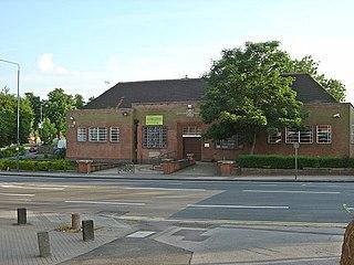 area of Nottingham, England