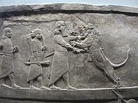 Assyrian royal lion Hunt17.JPG
