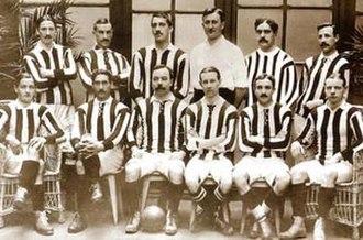 Basque derby - Athletic Bilbao's 1910 Copa del Rey-winning team